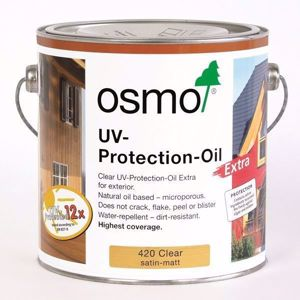 Osmo UV Protection Oil. Available from EC Forest Products